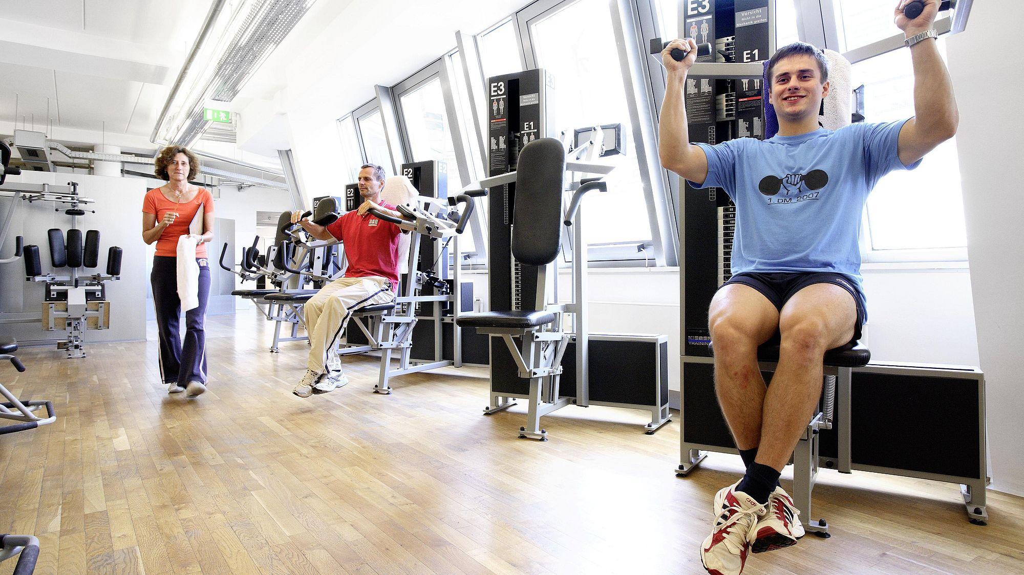 Ihr Fitnessstudio in Leipzig-Mitte | Kieser Training