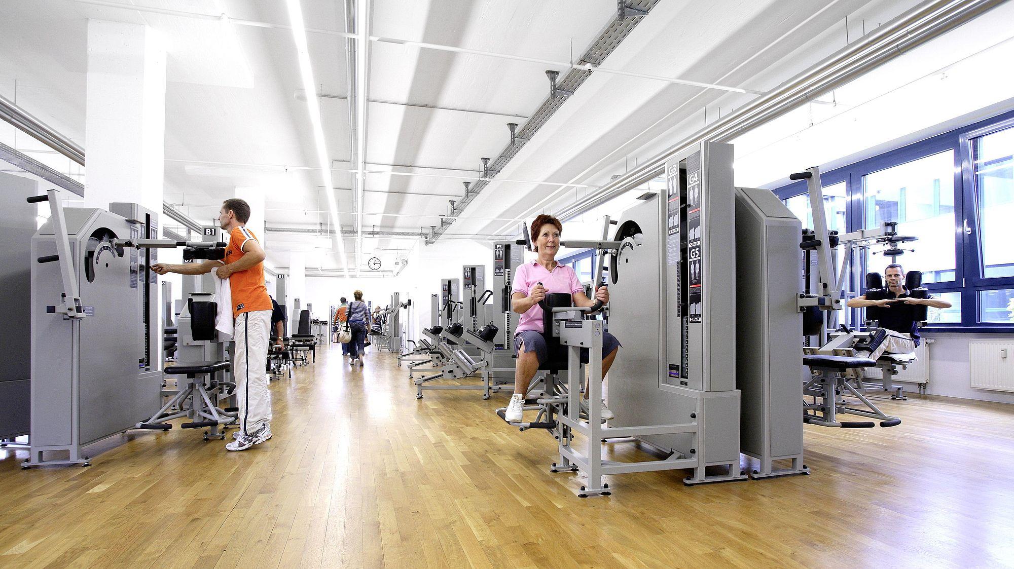 Ihr Fitnessstudio in Magdeburg | Kieser Training