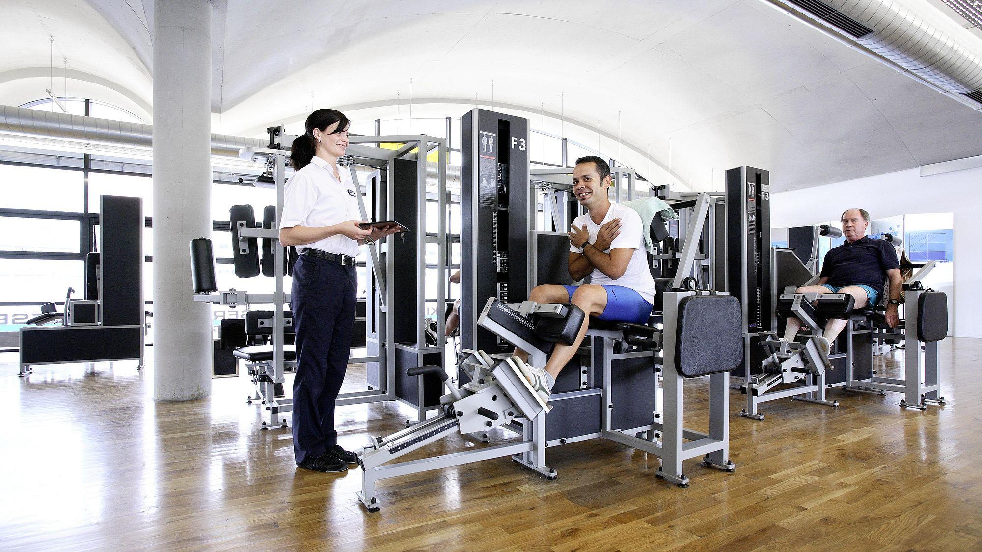 Ihr Fitnessstudio in Koblenz | Kieser Training