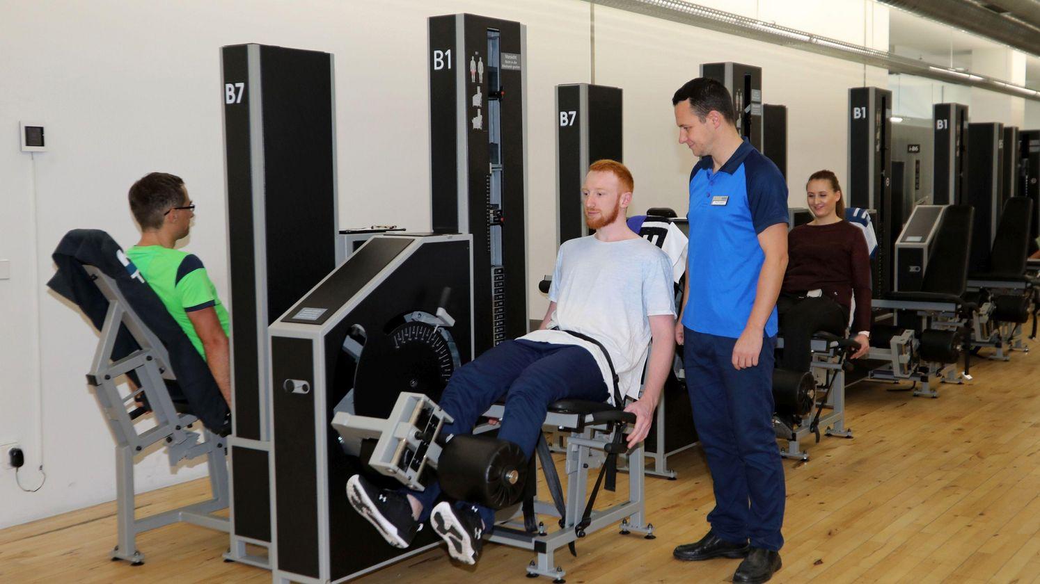 Ihr Fitnessstudio in Erfurt | Kieser Training