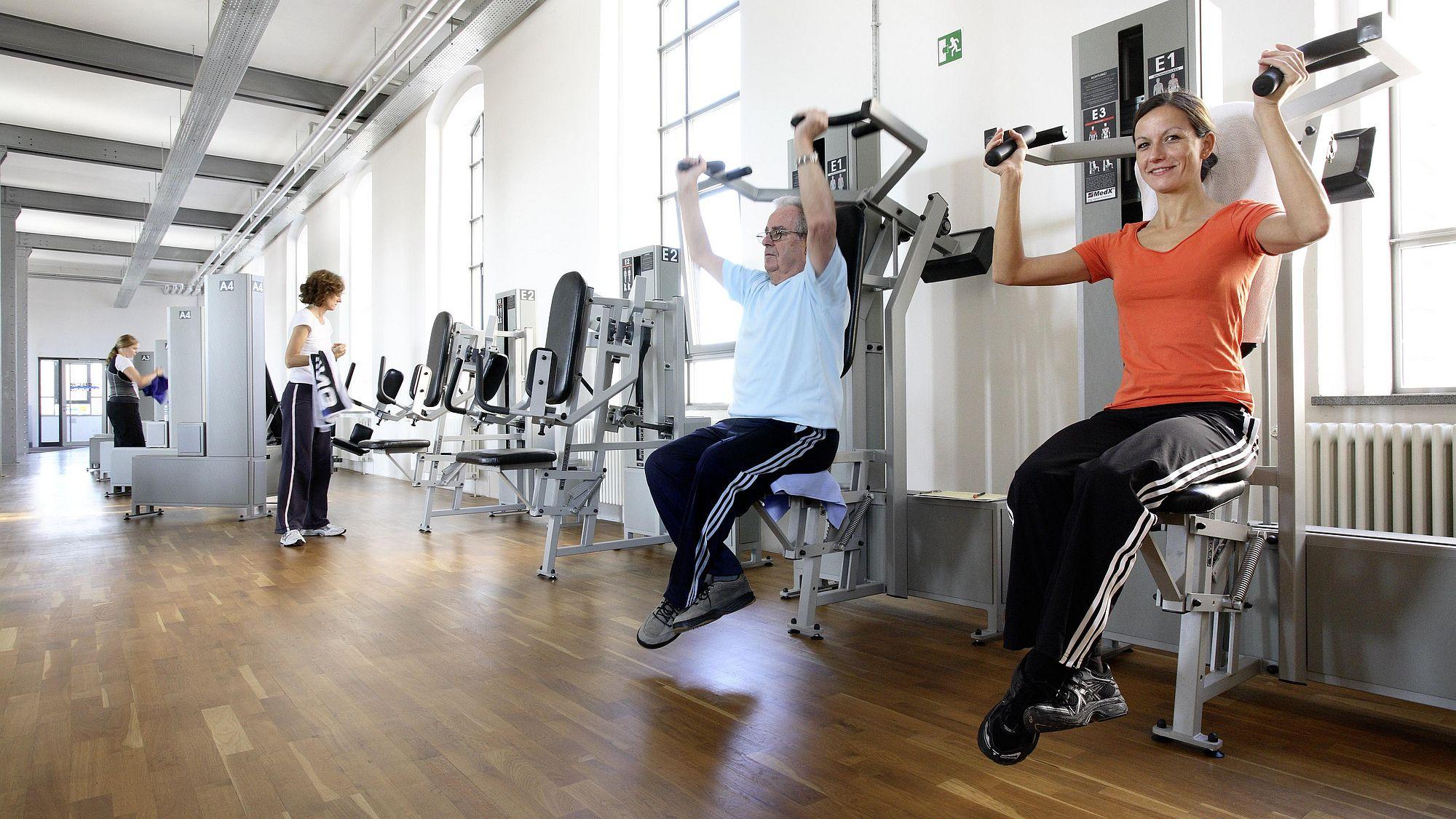 Ihr Fitnessstudio in Augsburg | Kieser Training